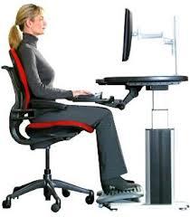 Buena postura frente al computador