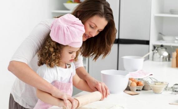 Cocinando con mami