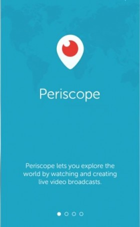 periscope homepage